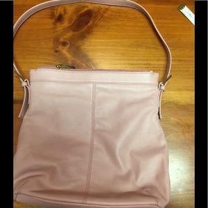 Light Pink Leather Purse